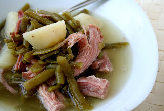 Pa Dutch Ham and String Beans