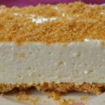 Woolworth's Lemon Icebox Cheesecake