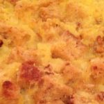 Amish Baked Pineapple Casserole