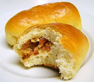 Lithuanian Bacon Buns