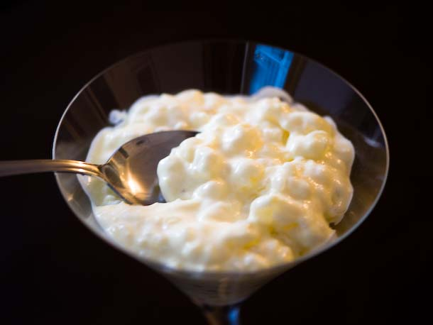 Old-fashioned Large Pearl Tapioca Pudding