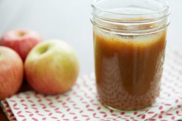 slow cooker apple butter photo