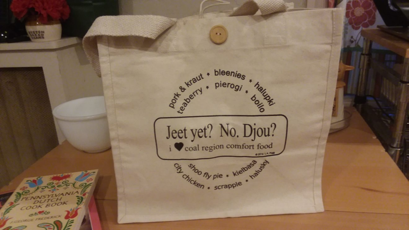 """Jeet yet?"" Recycled Cotton Tote Bag"