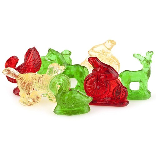 clear toy candy